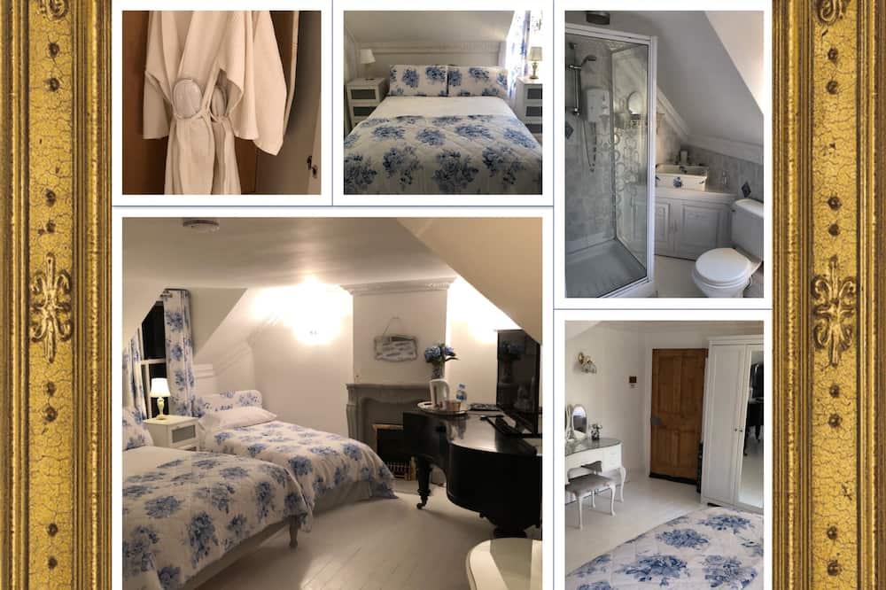 Apartmán, vlastná kúpeľňa - Hosťovská izba