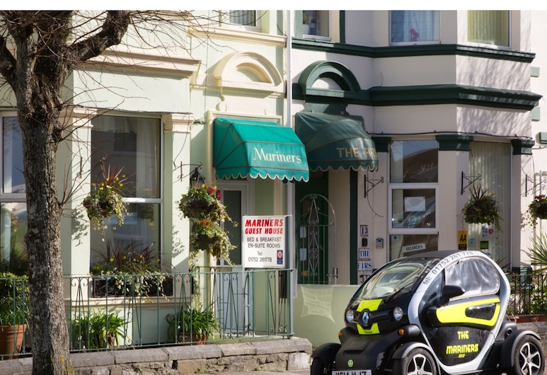 Mariners Guest House, Plymouth, Hotel Front