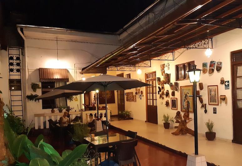 Hotel La Casona, Iquitos, Innenhof