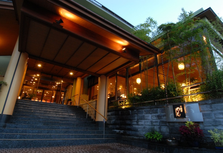 有馬溫泉竹取亭丸山日式旅館, 神戶, 飯店入口