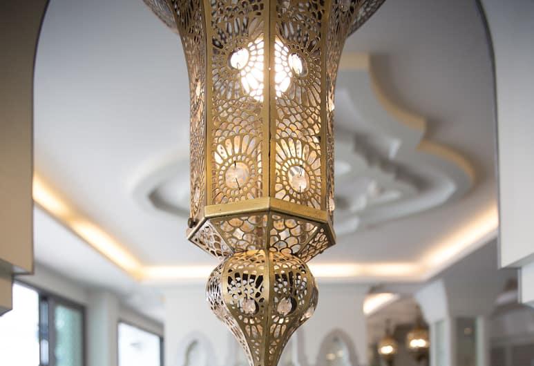 The Verandah, Krabi, Binnenkant hotel