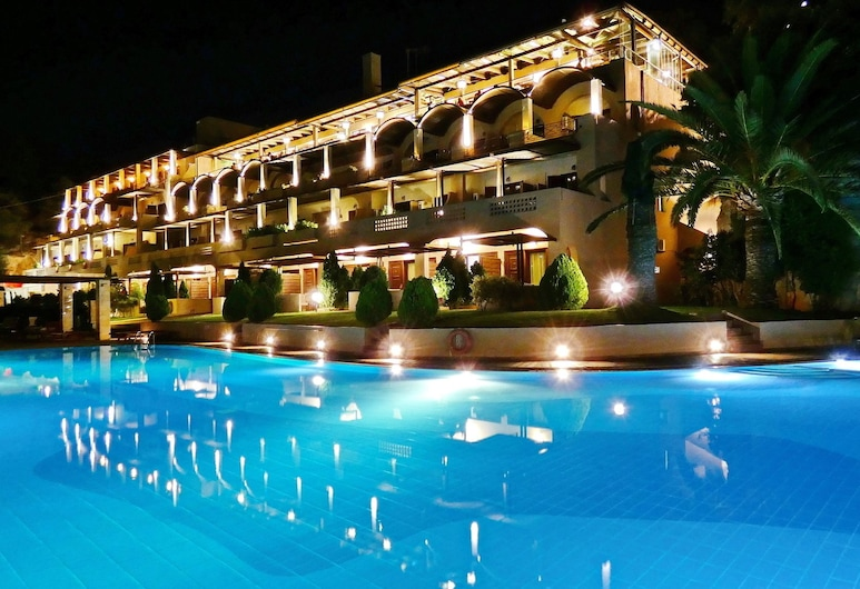 Royal Sun Hotel, Χανιά, Πρόσοψη ξενοδοχείου - βράδυ/νύχτα