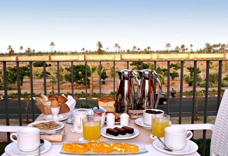 Rawabi Hotel & Spa-All Inclusive Available, Marrakess, Fjölskylduherbergi, Útsýni úr herbergi
