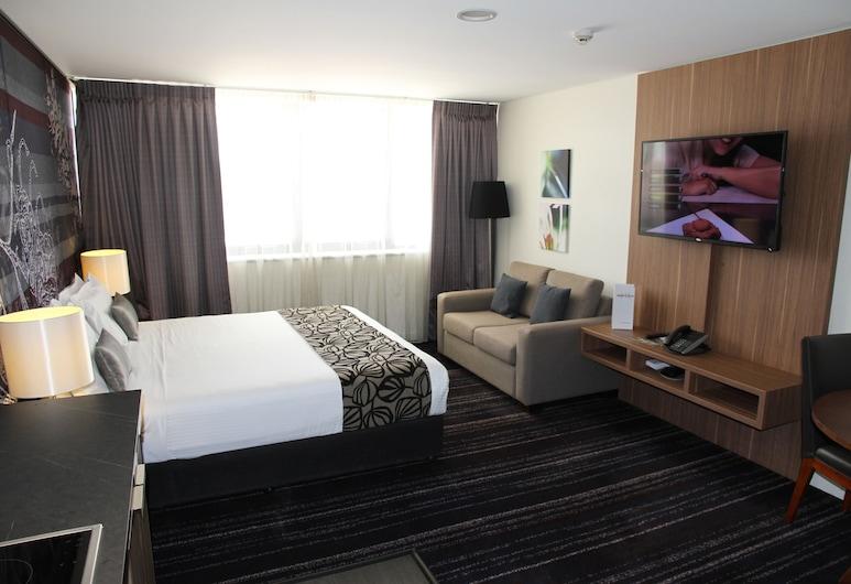 格拉德斯通美居飯店, 巴尼波茵特, Privilege, 公寓, 1 張特大雙人床, 客廳