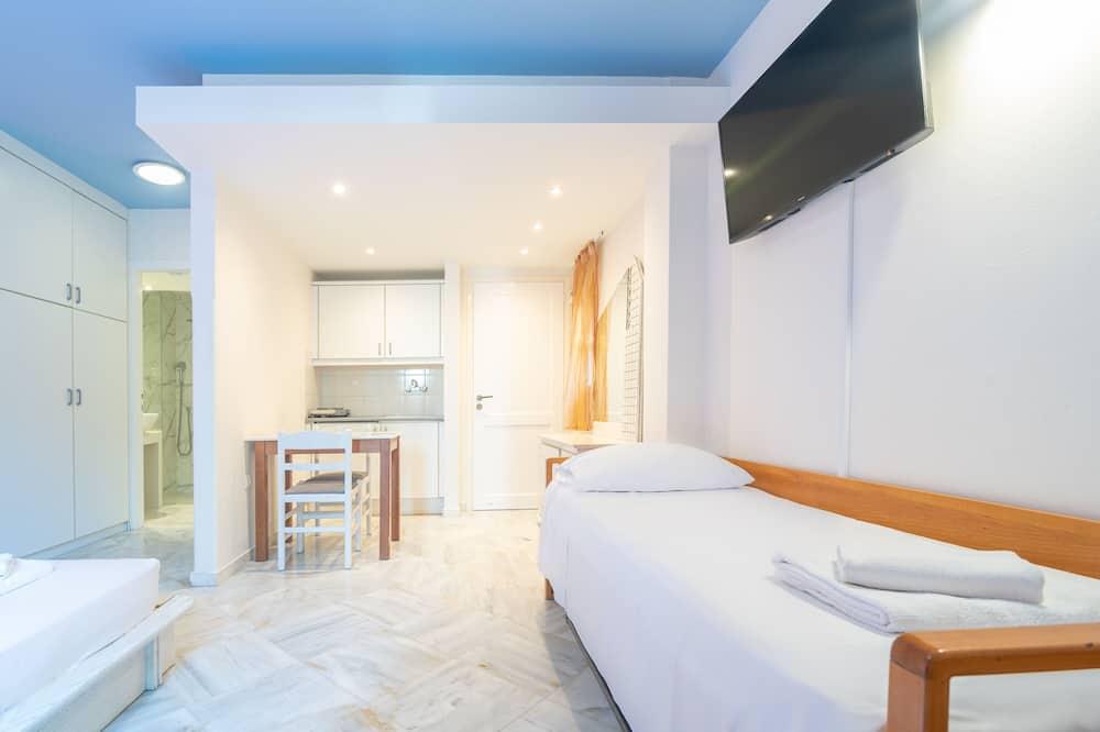 Dreibettzimmer, Gartenblick - Zimmer
