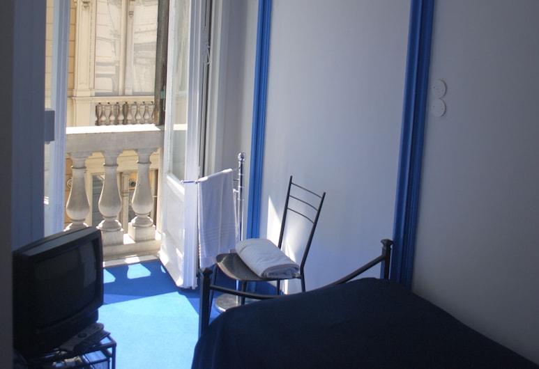 Olympia Hotel, Genova, Quadrupla Superior, piano elevato, Area soggiorno
