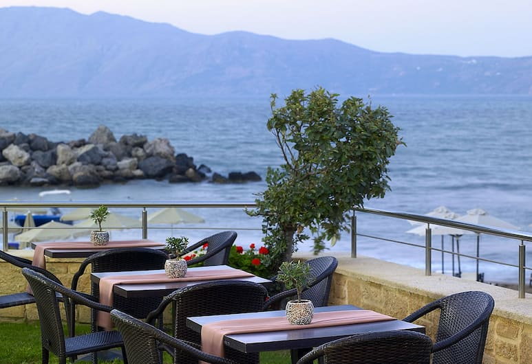 Molos Bay Hotel, Kissamos, Terasa restaurace