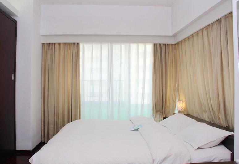 World Union Service Apartment Cosmo, Šanchajus, Pagerinto tipo numeris, 1 miegamasis, virtuvėlė, vaizdas į miestą, Vaizdas iš kambario