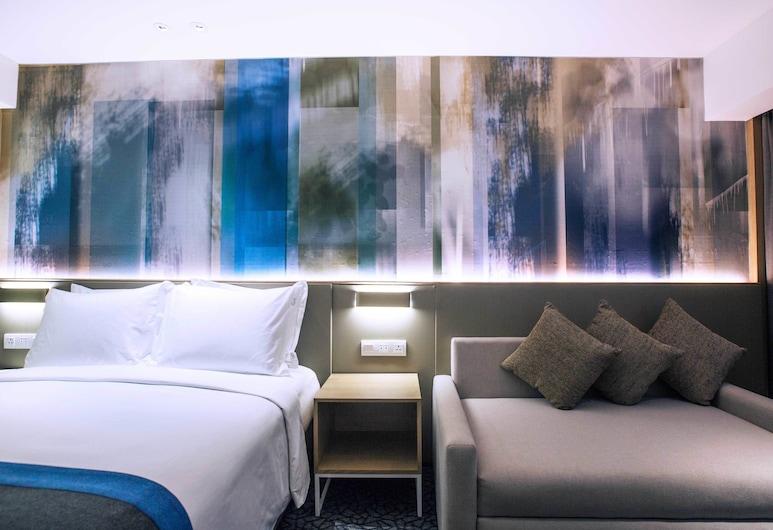 馬尼拉紐波特城智選假日酒店 - IHG 酒店, 帕謝, 高級客房, 1 張加大雙人床及 1 張梳化床, 非吸煙房, 客房