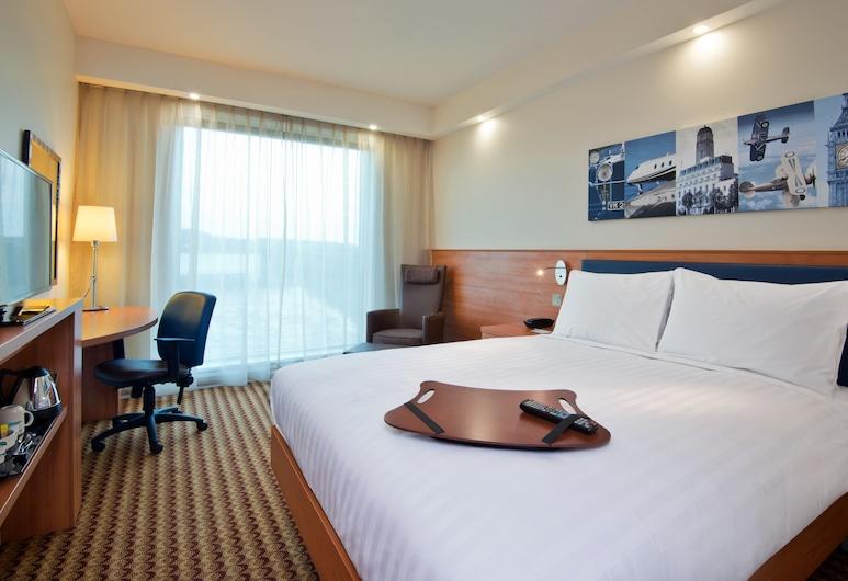 倫敦盧頓機場希爾頓歡朋酒店, 路頓, 客房, 1 張加大雙人床, 客房
