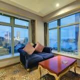 Habitación cuádruple familiar - Sala de estar