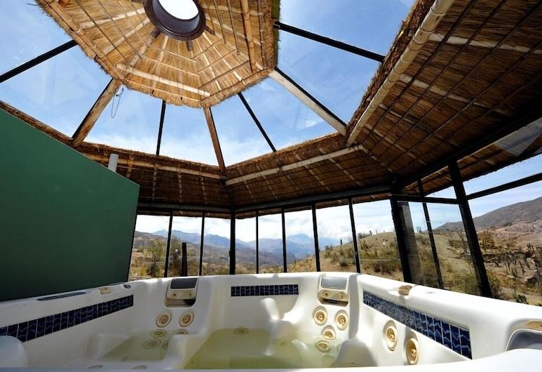 Boutique Eco-Resort Allkamari, La Paz, אמבט ספא מקורה