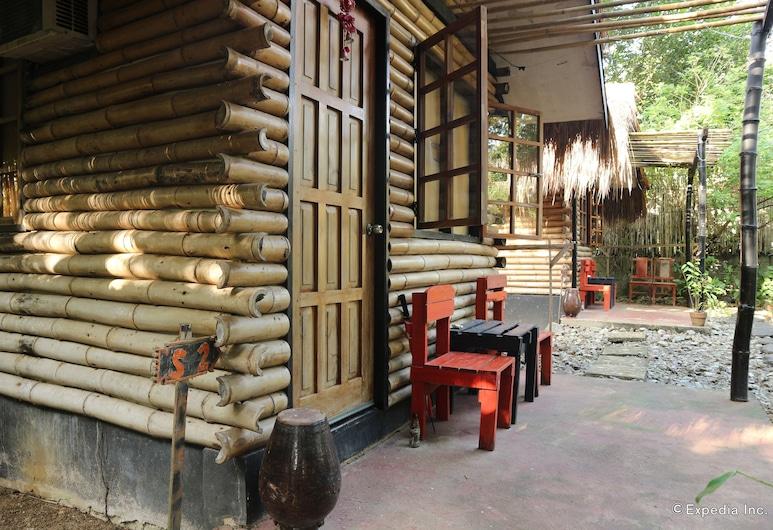 Subli Guest Cabins, Puerto Princesa, Terrasse/Patio