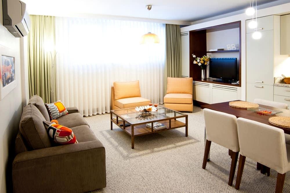 Economy Suite (-1 Floor) - Sala de estar