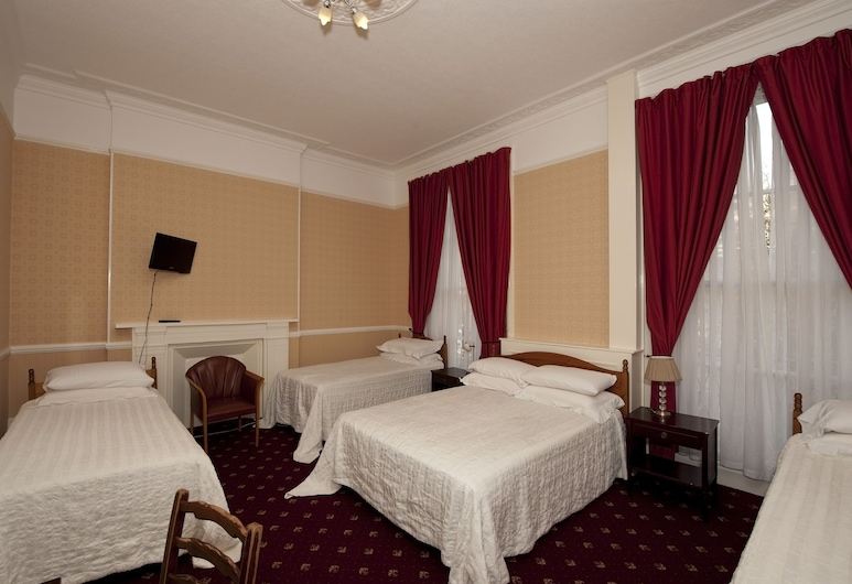 Balmoral House Hotel, London, Familierom, Gjesterom