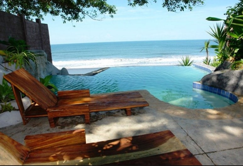 Hotel Tekuani Kal, La Libertad, Açık Yüzme Havuzu