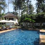 別墅, 1 張標準雙人床, 泳池景觀 - 室外游泳池