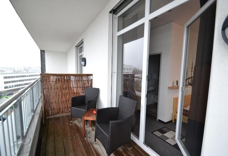 Arena Hostel Hamburg, Hamburg, Deluxe-Doppelzimmer, Balkon