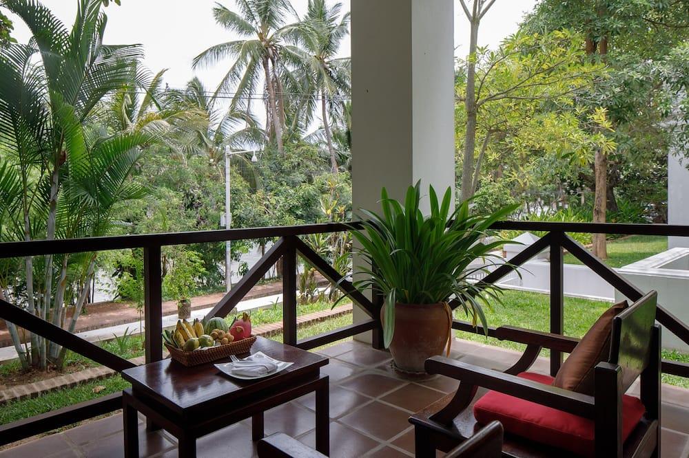 Victoria Suite Garden View - Vue depuis le balcon