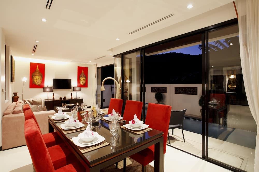 1 Bedroom Private Pool Villa - บริการอาหารในห้องพัก