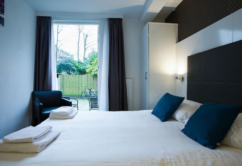 Hotel Vossius Vondelpark, Amsterdam, Doppelzimmer, Blick auf den Innenhof, Annex, Zimmer
