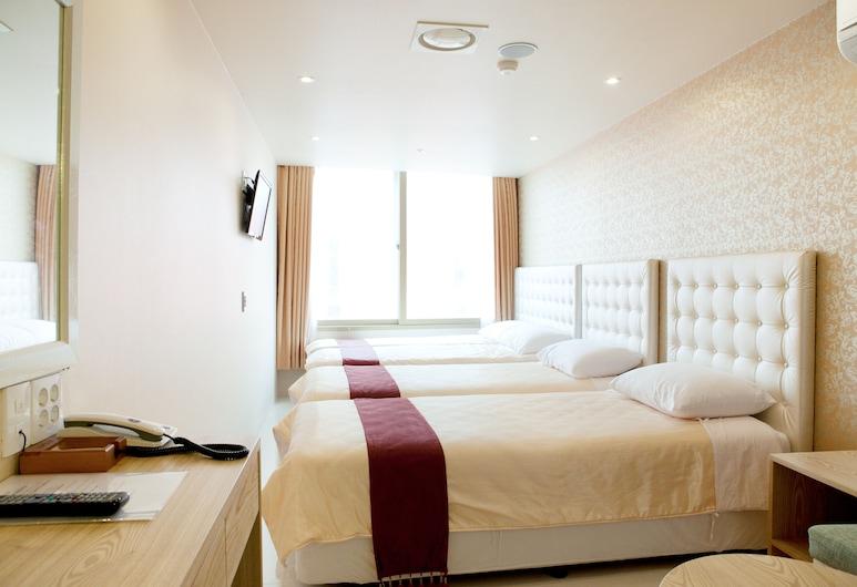明洞溫暖酒店, 首爾, 三人房, 客房