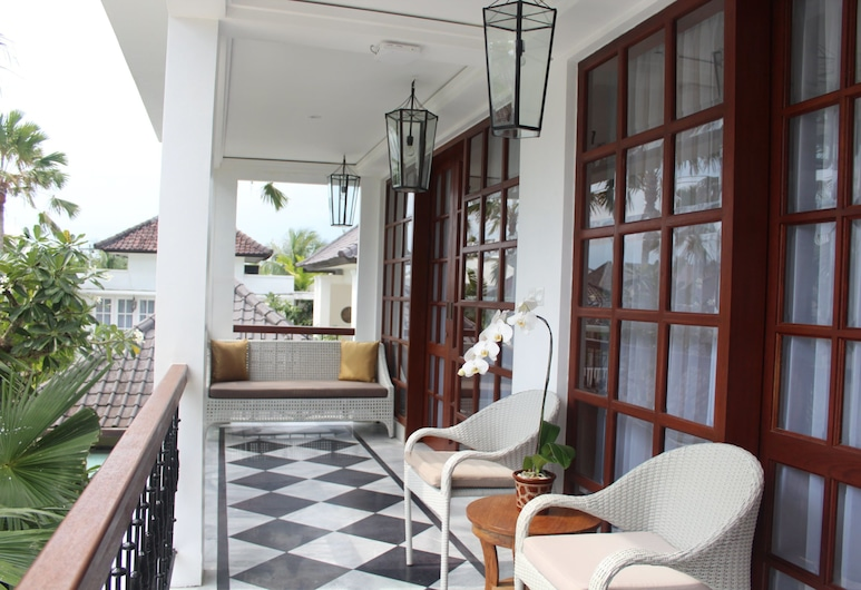 The Colony Hotel, Seminyak, Club suite (Grand), Woonruimte