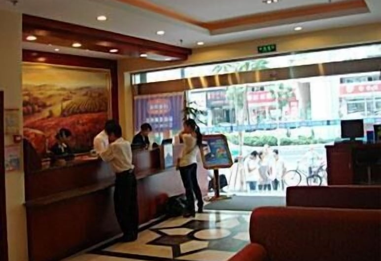 Hanting Express Inn Xiahe Road - Xiamen, Xiamen, Reception