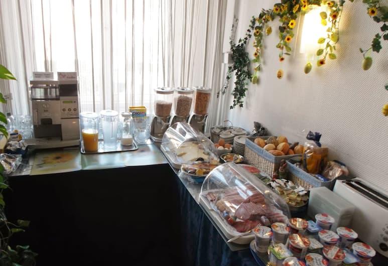 Hotel-Pension Bregenz, ベルリン, 朝食スペース