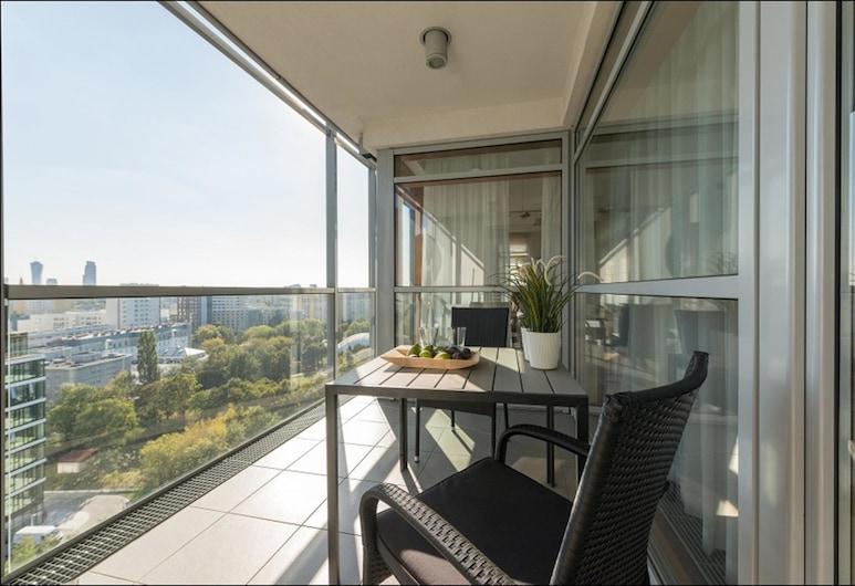 P&O Apartments Arkadia, Varšava, Luxusný ateliérový apartmán, 3 spálne, výhľad na mesto (with A/C), Balkón