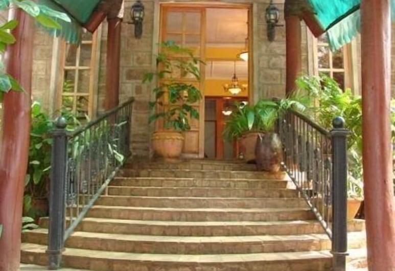 西諾納酒店, 奈洛比, 酒店正面