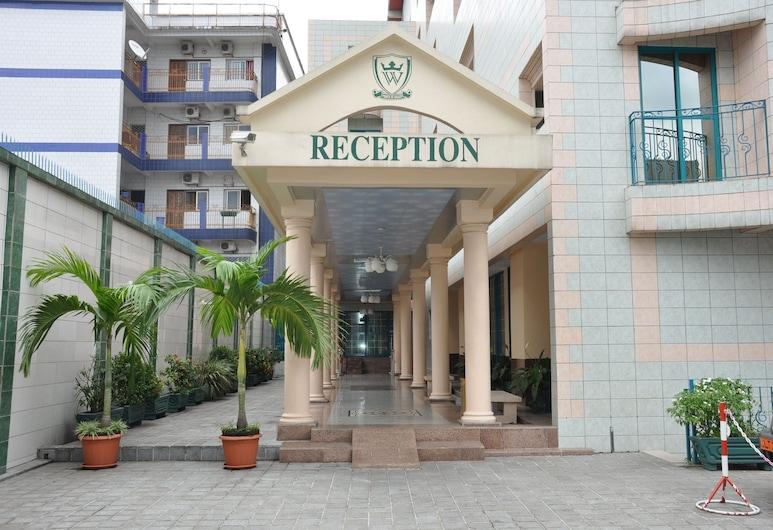 Hotel Prince de Galles, ดูอาลา, ทางเข้าโรงแรม