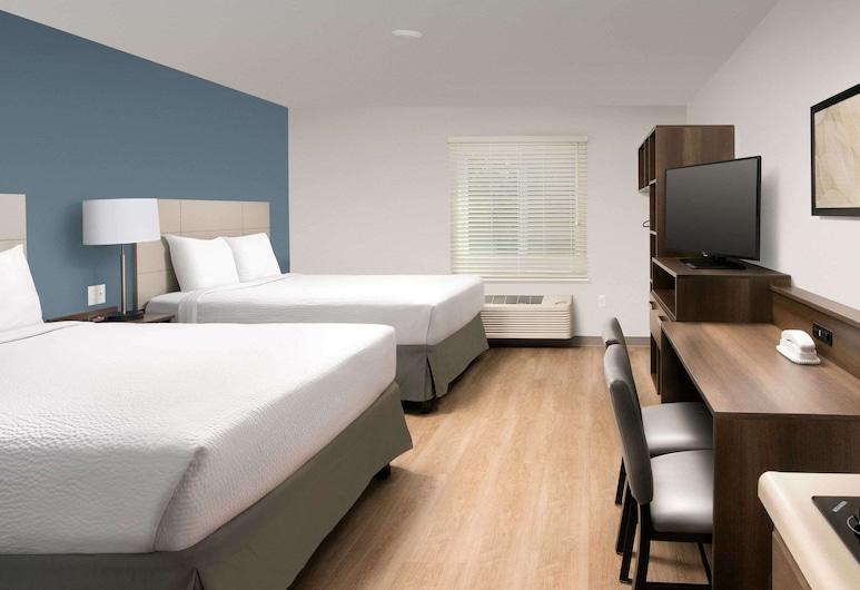 WoodSpring Suites Williston, Williston, Standardzimmer, 2Doppelbetten, Nichtraucher, Zimmer