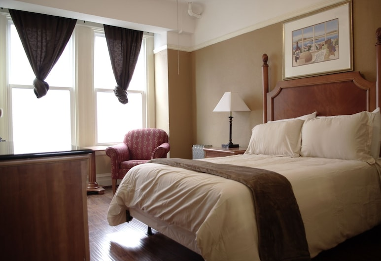 Yale Hotel, San Francisco, Deluxe Room, 1 Queen Bed, Non Smoking, Private Bathroom, Guest Room