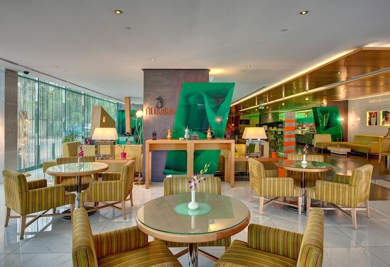 Al Khoory Executive Hotel, Dubaj, Poczekalnia w holu