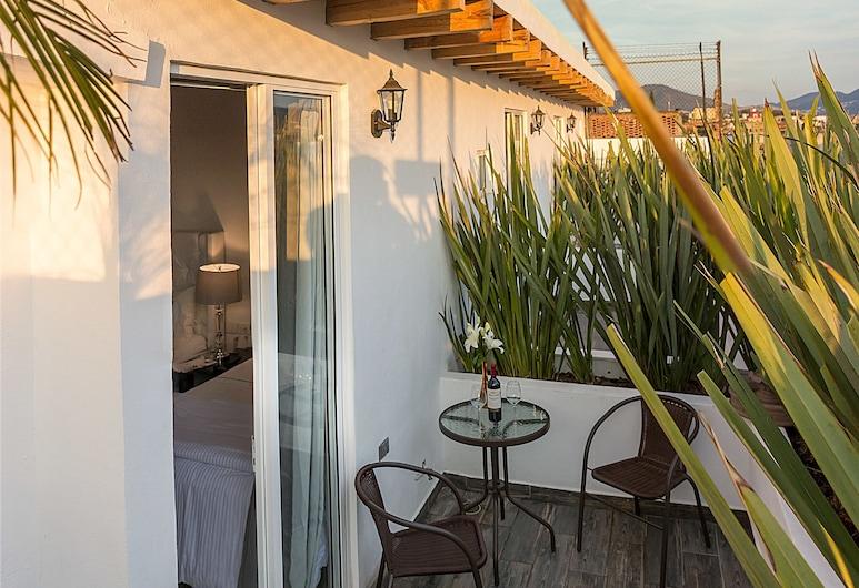 M HOTELES CONCEPTO, Морелья, Тераса/внутрішній дворик