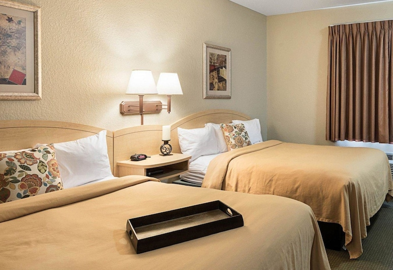 Suburban Extended Stay Hotel, Morgantown, Room, 2 Queen Beds, Accessible, Non Smoking (Efficiency), Guest Room