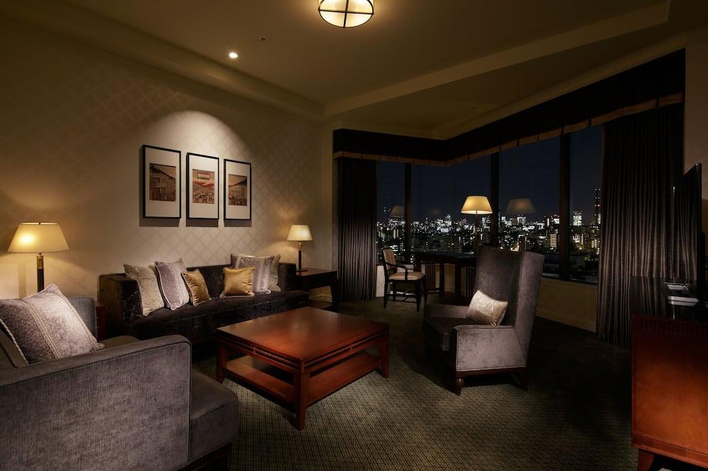 Premier Suite, City View 2019 - Living Area