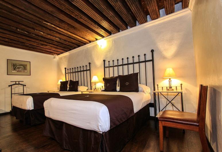 丹盧卡斯卡索納飯店, 瓜納華多, 普通套房, 客房