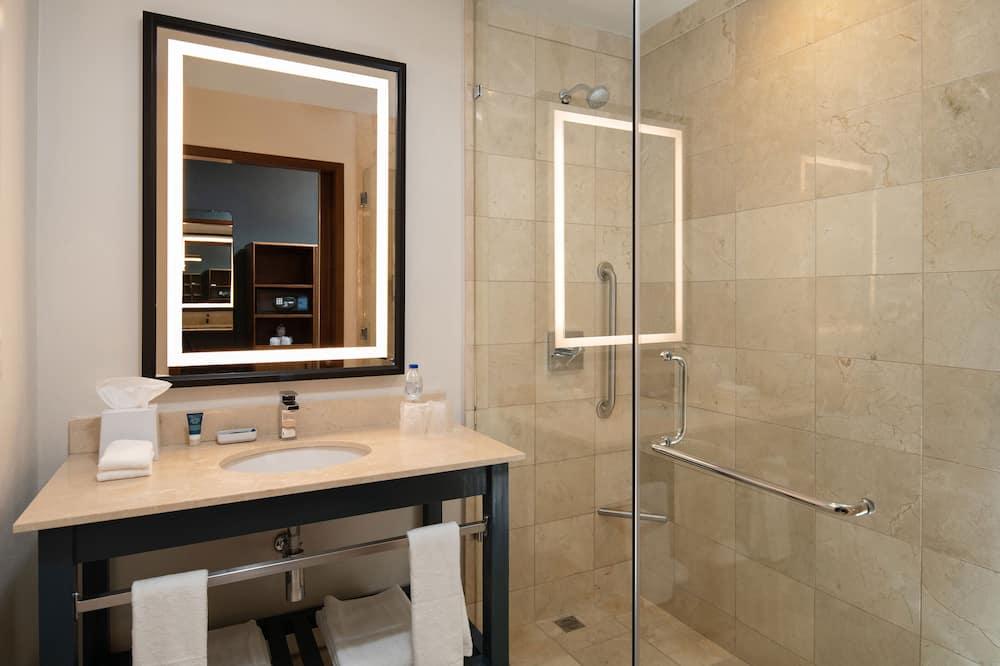Habitación tradicional, 1 cama de matrimonio grande, no fumadores - Cuarto de baño