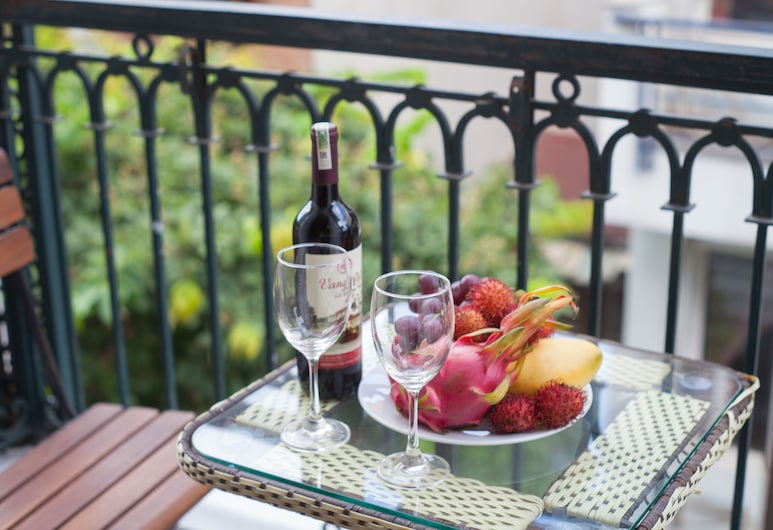 Iris Legend Hotel, Hanoï, Chambre Familiale, balcon, Chambre