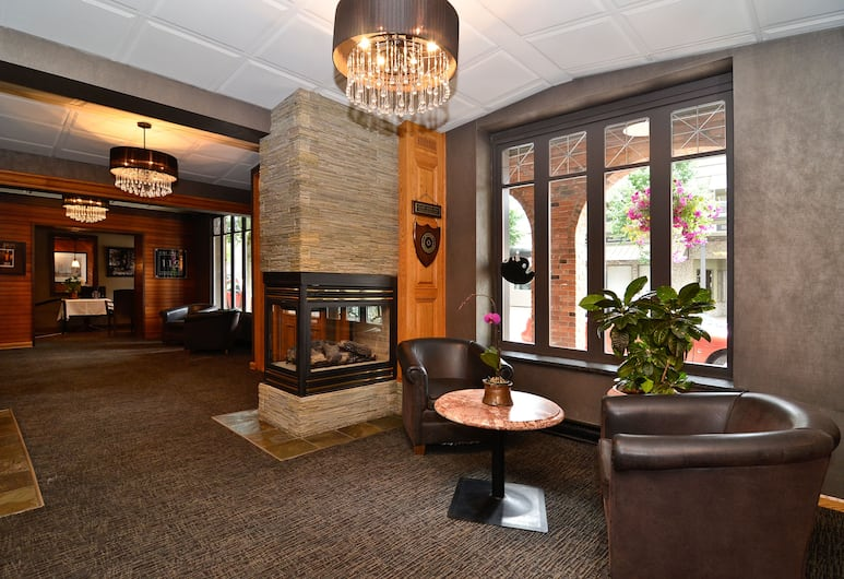 Regent Hotel, Revelstoke, Ruang Duduk Lobi
