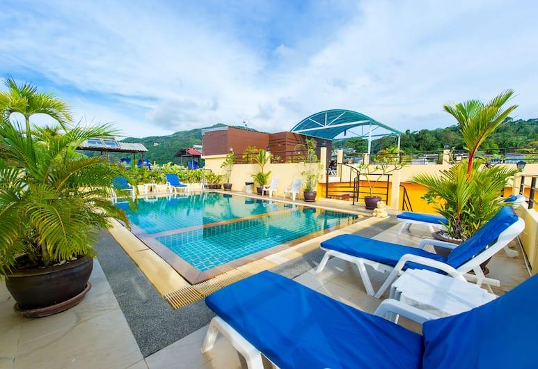 Thai Siam Residence, Patong, Rooftop Pool