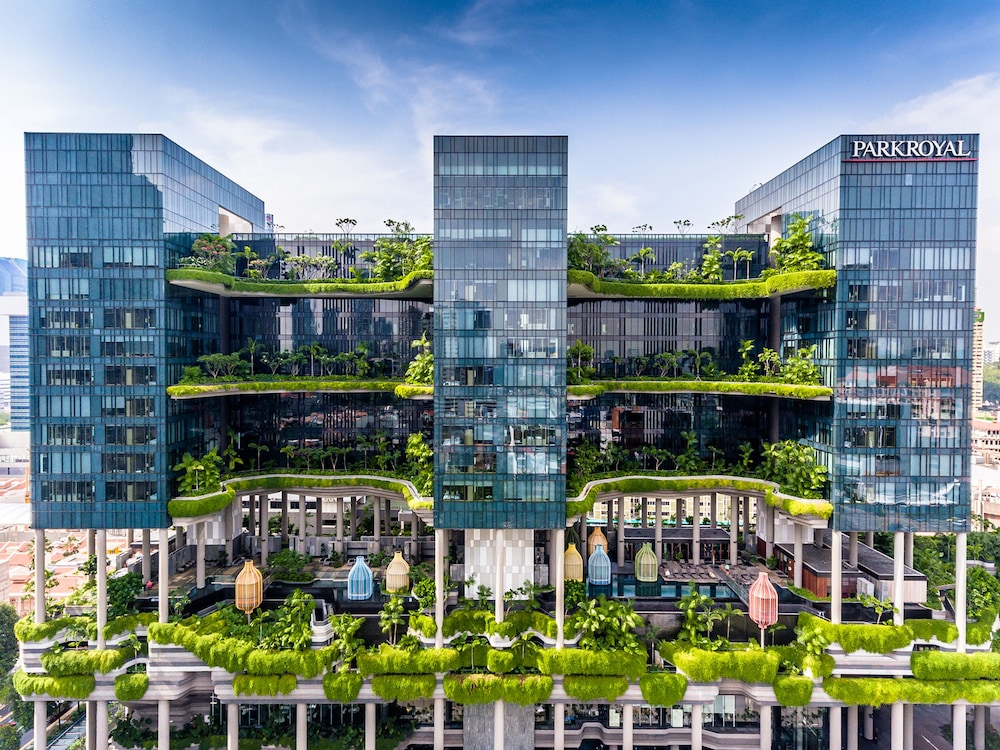 Book parkroyal on pickering in singapore for Design hotel singapore