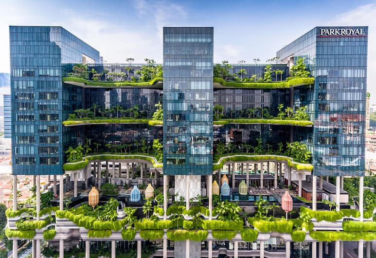 PARKROYAL COLLECTION Pickering, Singapore, Singapur, Hotelfassade