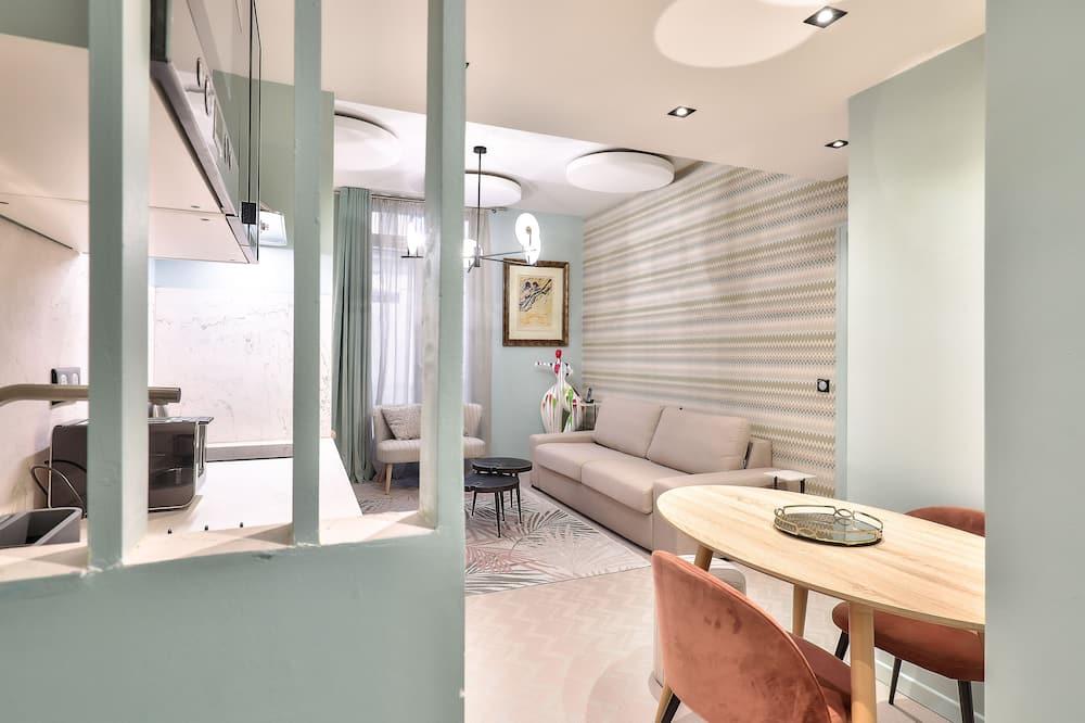 Familieværelse (Opéra) - Opholdsområde