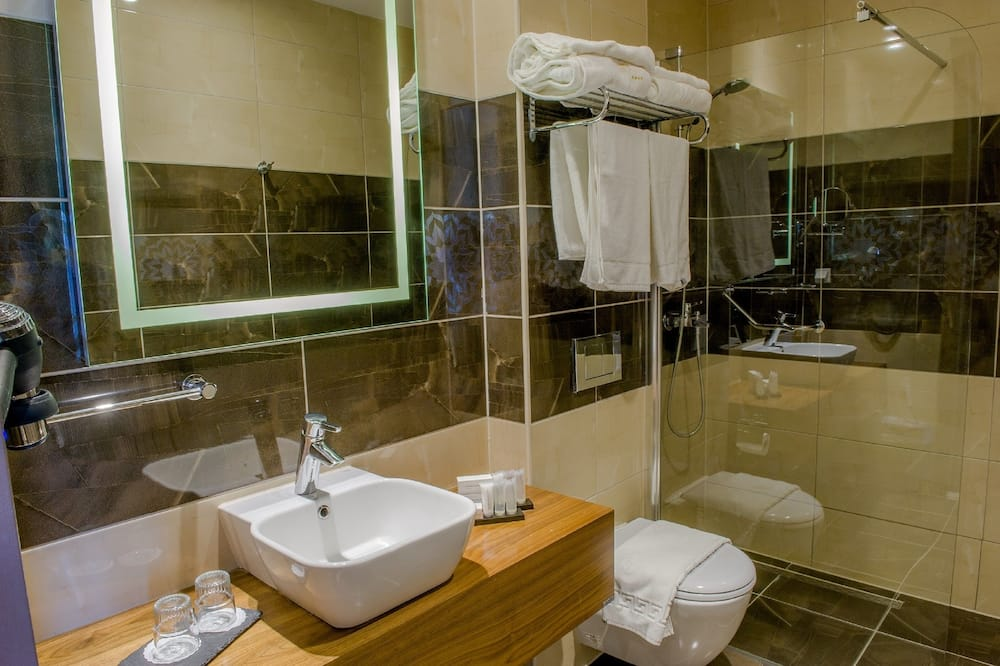 Penthouse, 1King-Bett - Badezimmer