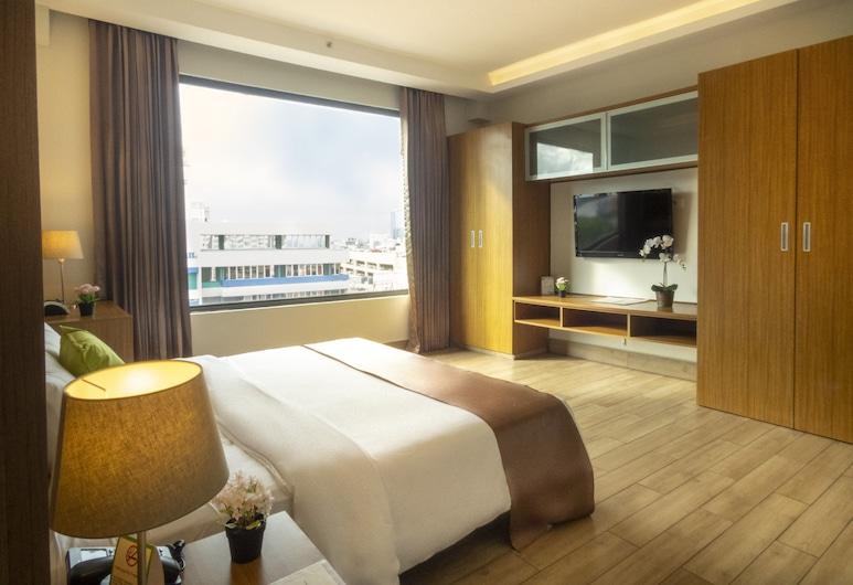 Weston Suites & Hotel, סנטו דומינגו, חדר סופריור, מיטת קינג, חדר אורחים