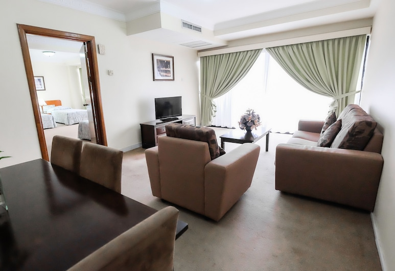 Jubilee Hotel, บันดาร์เสรีเบกาวัน, ห้องซูพีเรียสวีท, ห้องนั่งเล่น