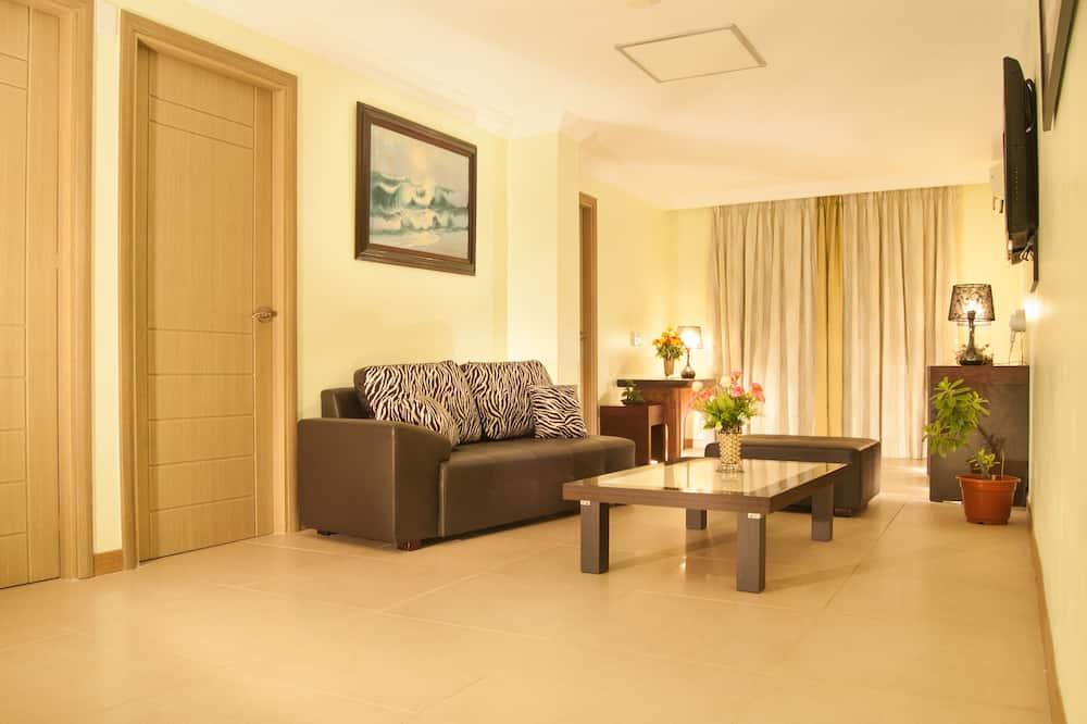 Suite, 3 slaapkamers - Woonkamer